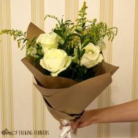 доставка цветов харьков Мини букет №4