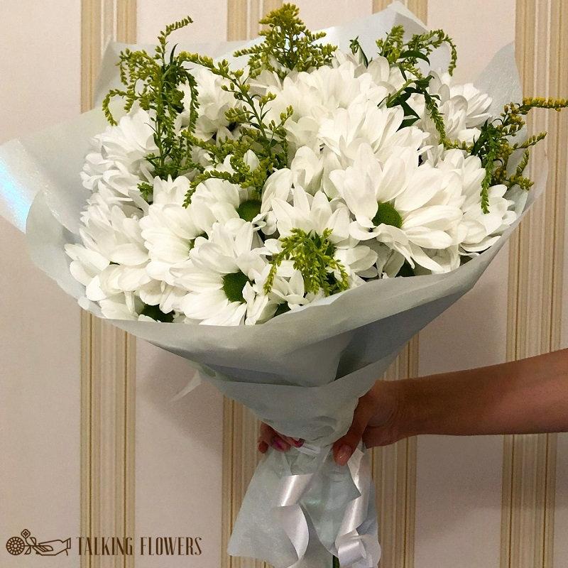 доставка цветов харьков Мини букет №2