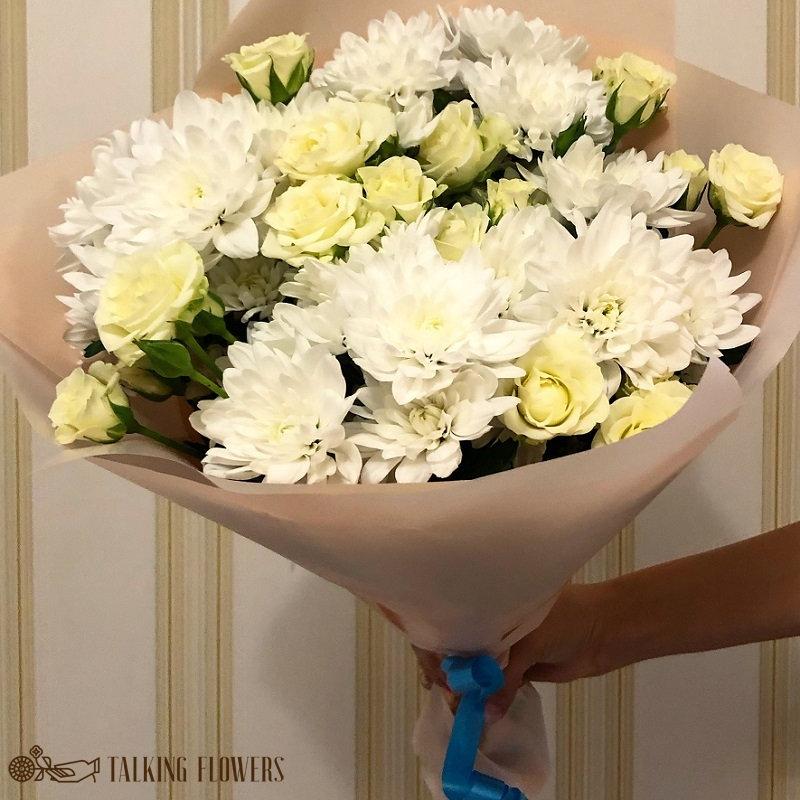 доставка цветов харьков Мини букет №5